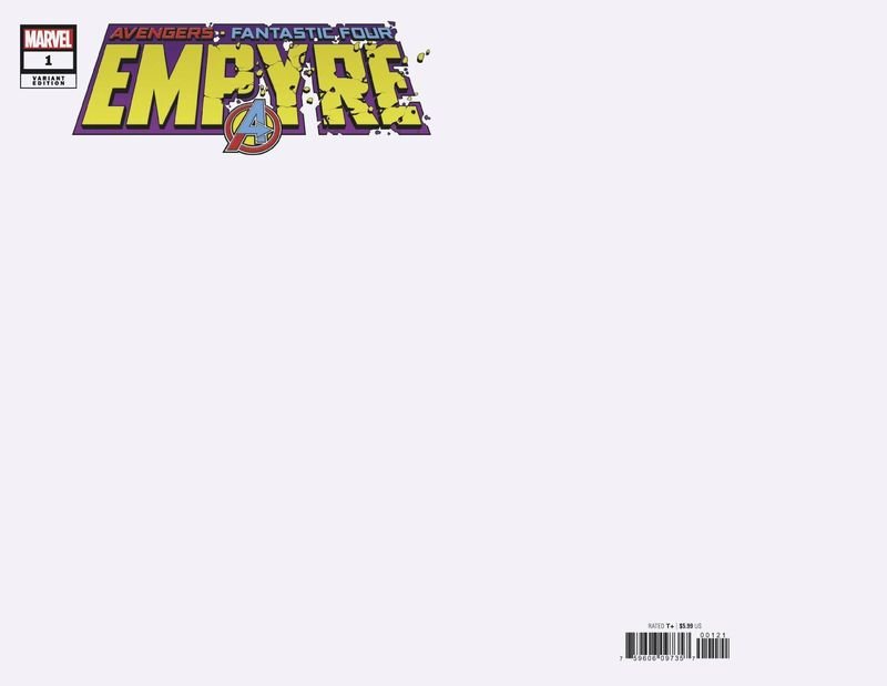 EMPYRE #1 (OF 6) BLANK VARIANT