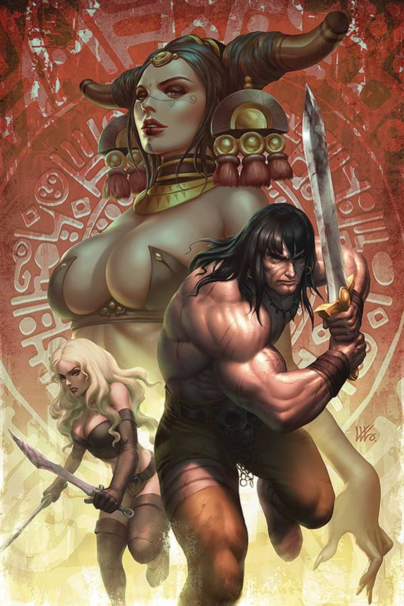 CIMMERIAN RED NAILS #2 COVER A KENDRICK LIM