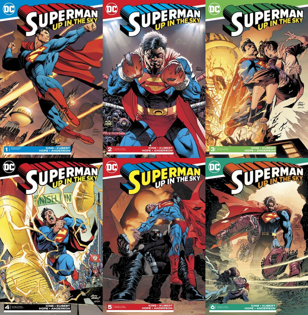 SUPERMAN UP IN THE SKY #1 - #6 (OF 6) SET