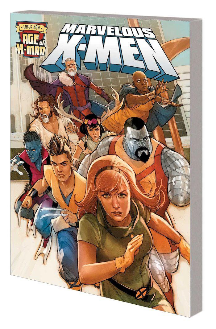 AGE OF X-MAN: THE MARVELOUS X-MEN TP