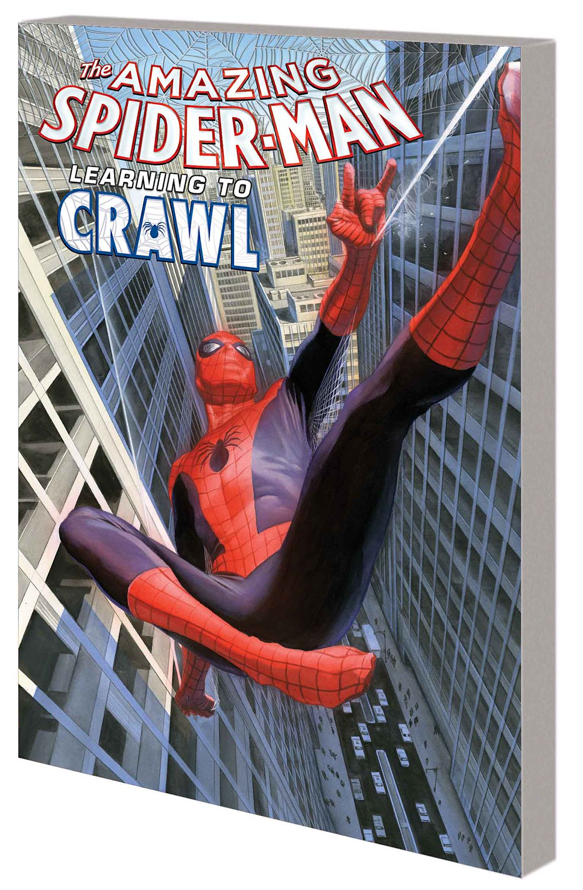 AMAZING SPIDER MAN TP 01.1 LEARNING TO CRAWL