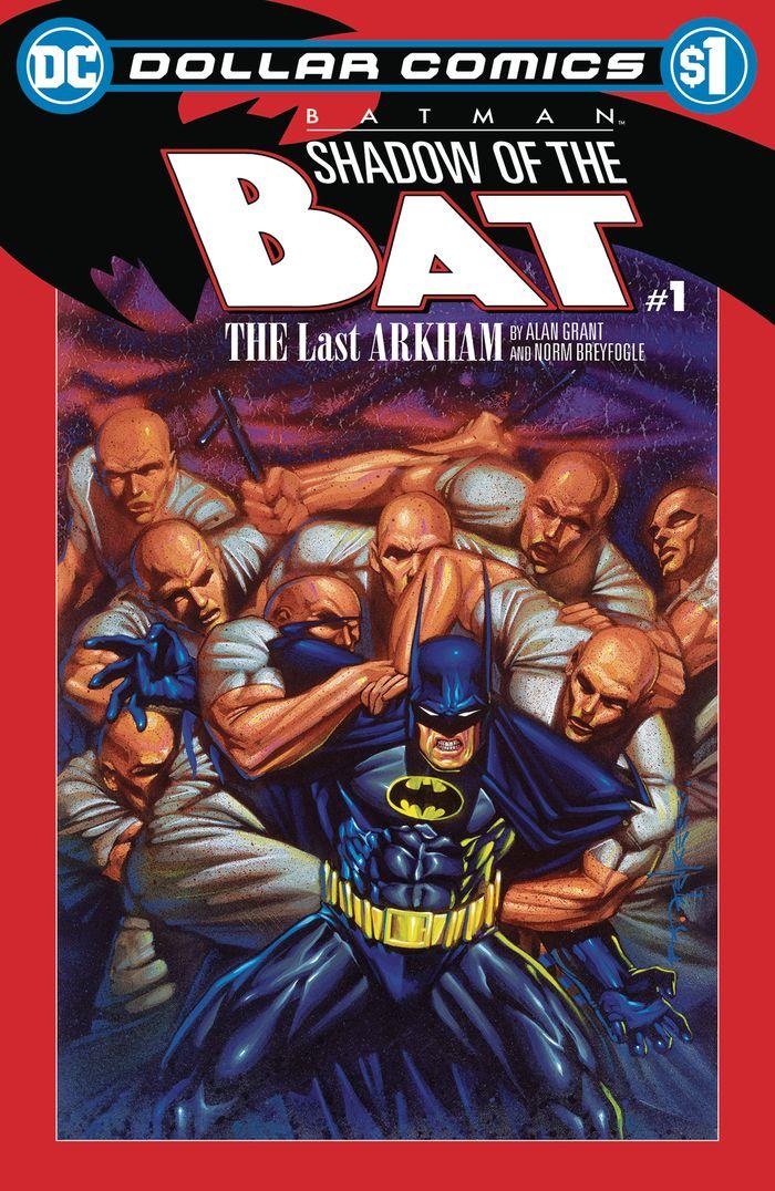 DOLLAR COMICS BATMAN SHADOW OF THE BAT #1 + 1 Adet Yerli Karton ve Poşet