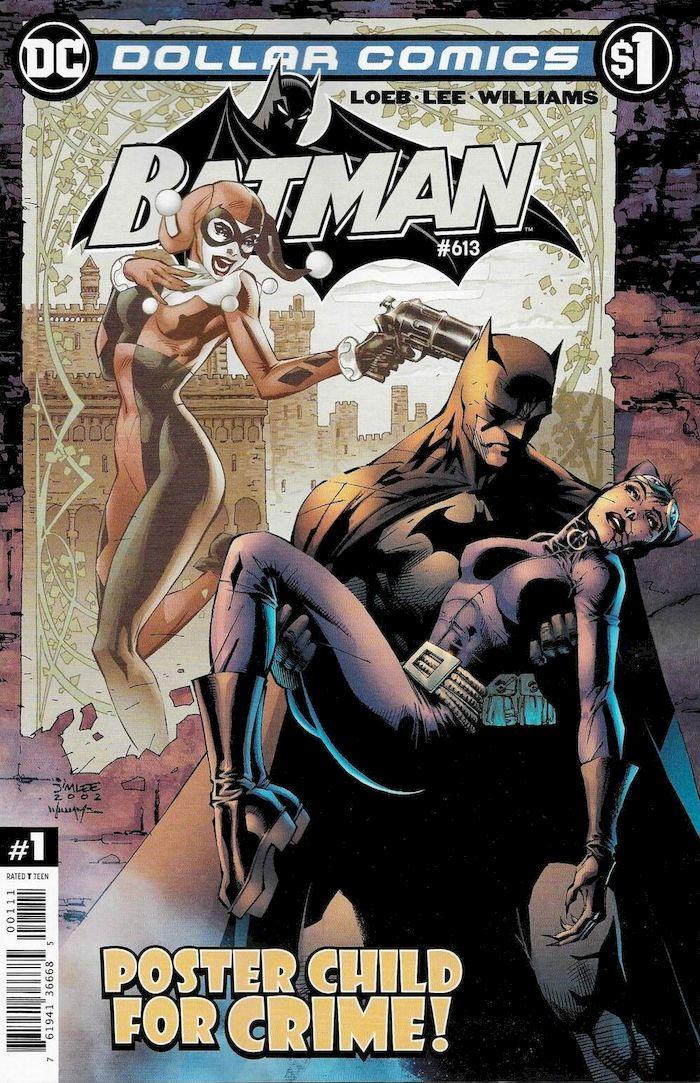 DOLLAR COMICS BATMAN #613 + 1 Adet Yerli Karton ve Poşet