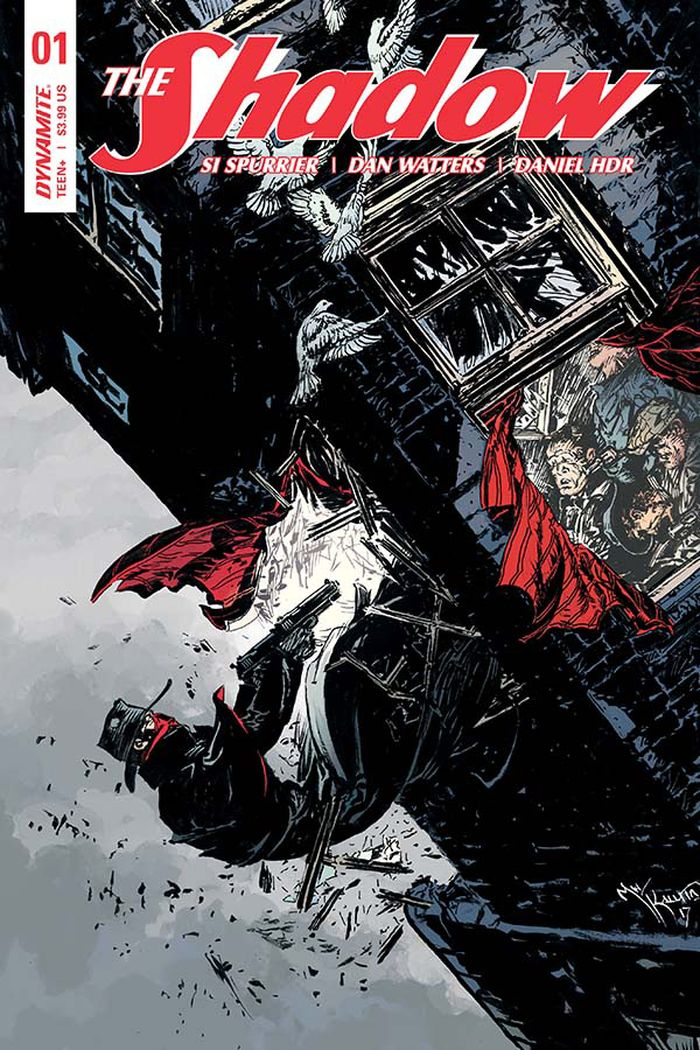 THE SHADOW #1 - #4 VARIANT SET