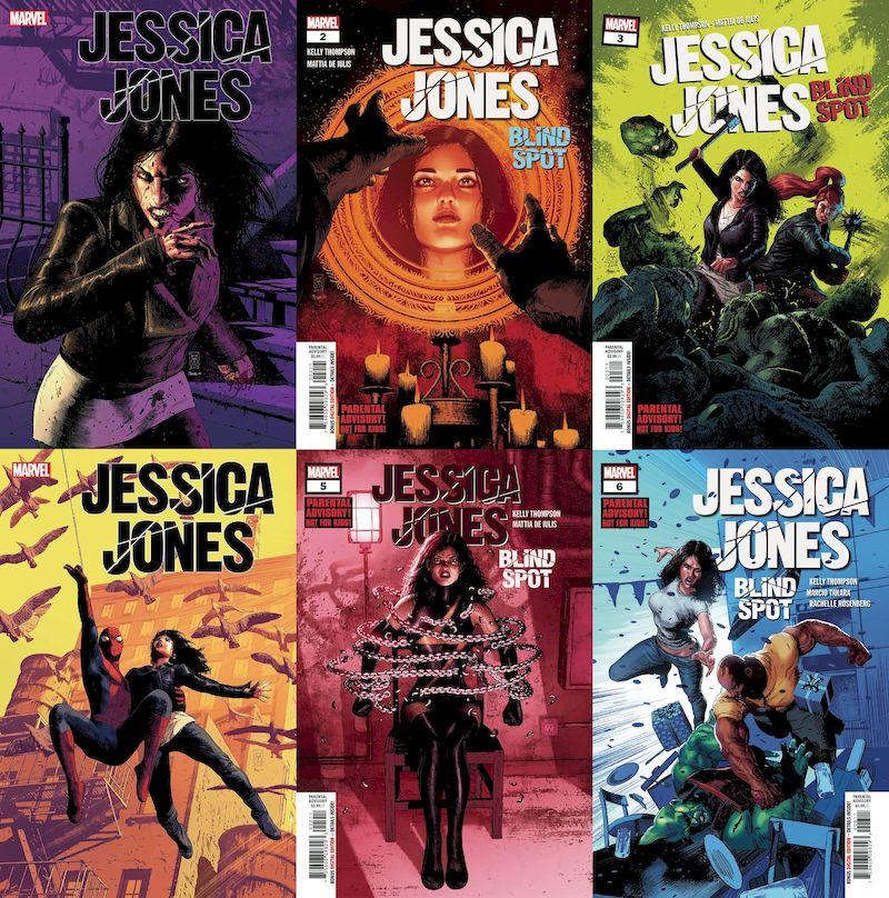 JESSICA JONES BLIND SPOT #1 - #6 (OF 6) SET