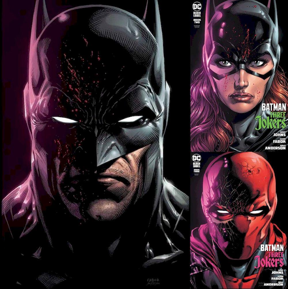BATMAN THREE JOKERS #1 - 3 VARIANT KAPAK ABONELİK KAPORA ÖDEMESİ