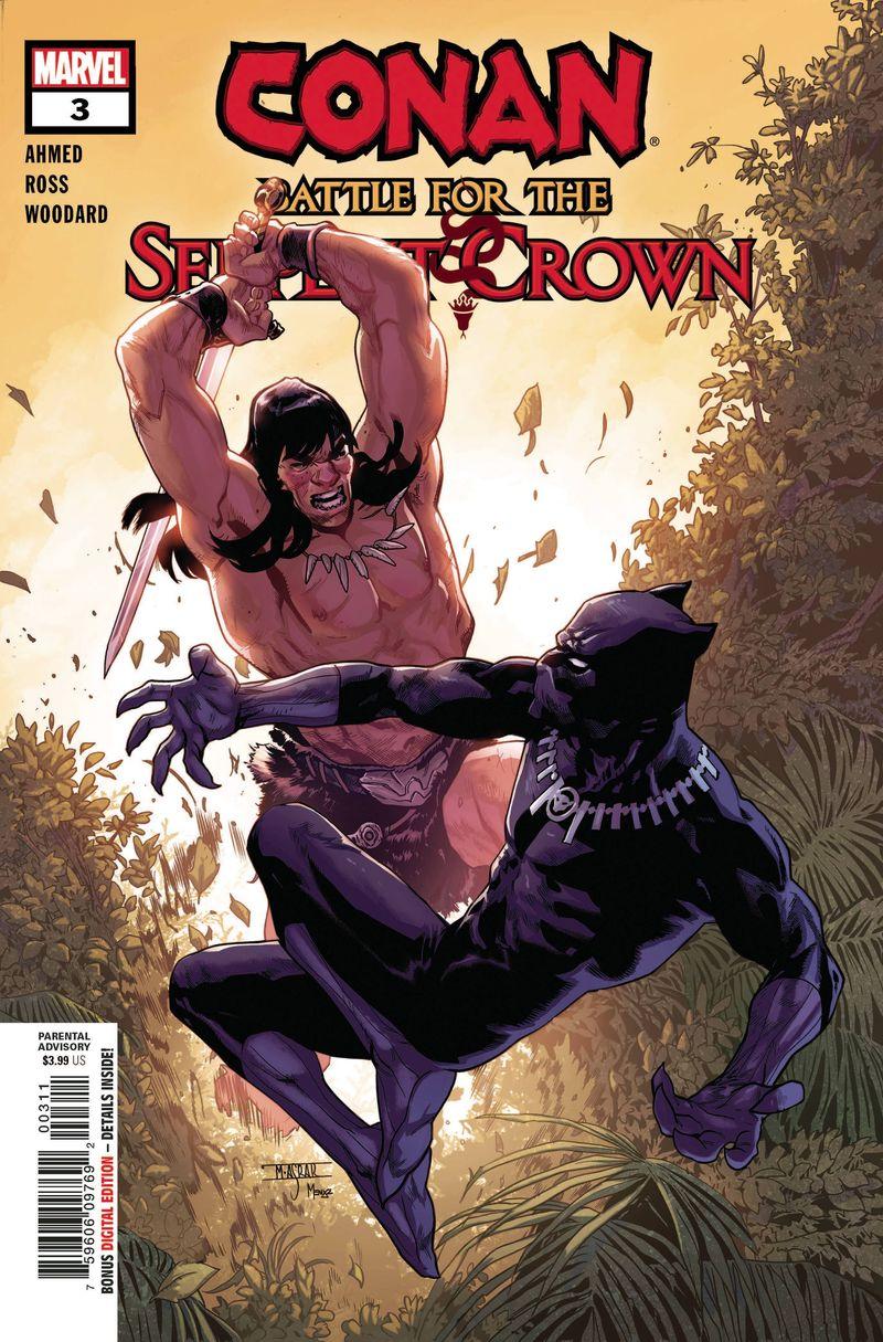 CONAN BATTLE FOR SERPENT CROWN #3 (OF 5)