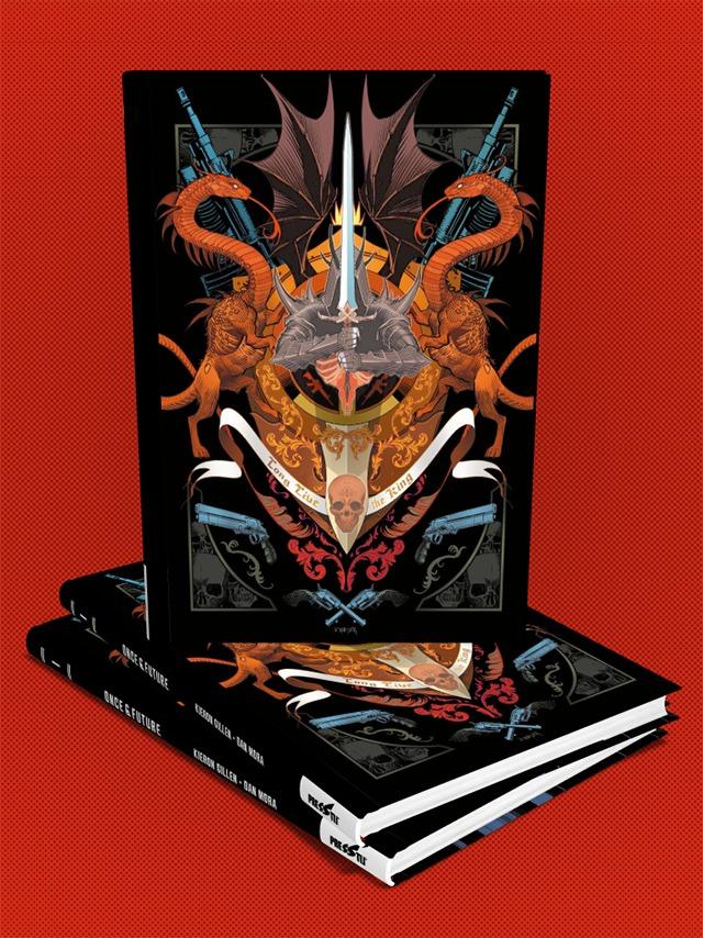Once & Future Cilt 1 : Kral Ölümsüz - Sert Kapak Özel Edisyon - (150 Limitli, Numaralı)