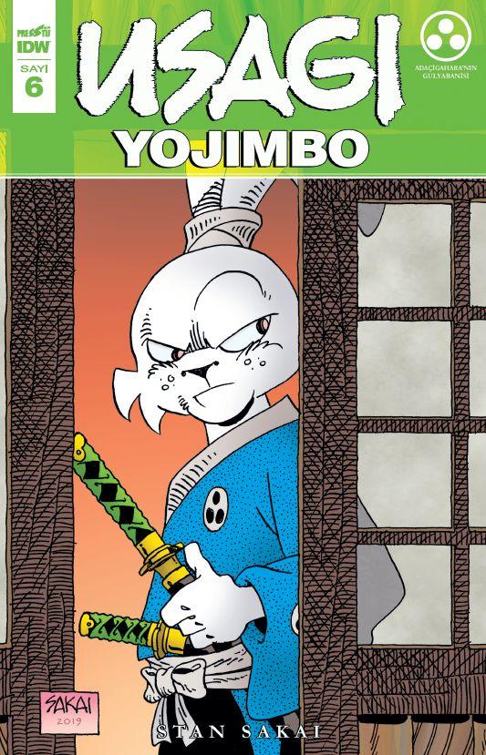 Usagi Yojimbo Sayı 6
